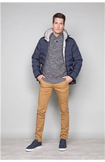 Puffy Jacket Acting Man W17658 (32082) - DEELUXE-SHOP