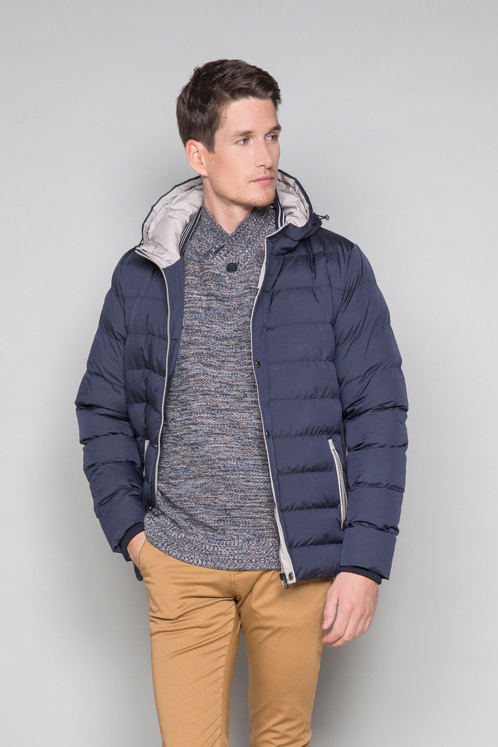 Puffy Jacket Acting Man W17658 (32083) - DEELUXE-SHOP