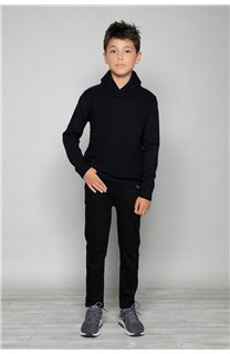 Sweater SWEATER Andrew Boy W17321B (32971) - DEELUXE-SHOP
