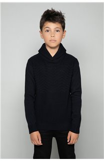 Sweater SWEATER Andrew Boy W17321B (32972) - DEELUXE-SHOP