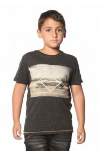 T-Shirt TUREY Garçon W17161B (33357) - DEELUXE
