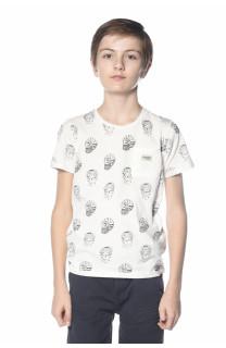 T-Shirt SANGRIA Garçon S18102B (33505) - DEELUXE