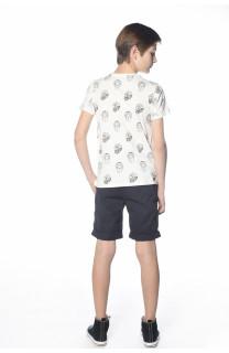 T-Shirt SANGRIA Garçon S18102B (33506) - DEELUXE