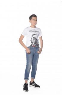 T-Shirt BLACKAWL Garçon S18107B (33514) - DEELUXE