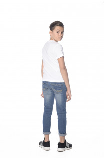 T-Shirt BLACKAWL Garçon S18107B (33516) - DEELUXE