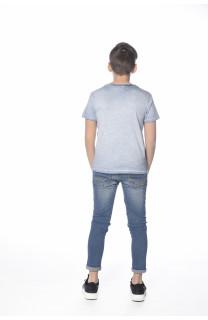 T-Shirt PLAGE Garçon S18133B (33545) - DEELUXE