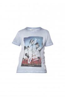 T-Shirt PLAGE Garçon S18133B (33546) - DEELUXE