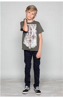 T-shirt T-SHIRT Flagy Boy S18160B (33570) - DEELUXE-SHOP