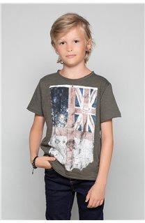 T-shirt T-SHIRT Flagy Boy S18160B (33571) - DEELUXE-SHOP