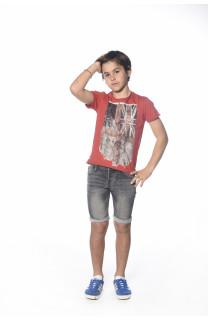 T-shirt T-SHIRT Flagy Boy S18160B (33575) - DEELUXE-SHOP