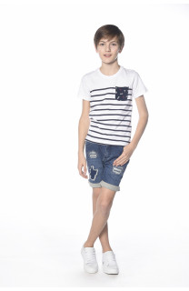 T-shirt Marin Boy S18173B (33587) - DEELUXE-SHOP