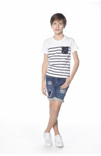 T-Shirt MARIN Garçon S18173B (33587) - DEELUXE