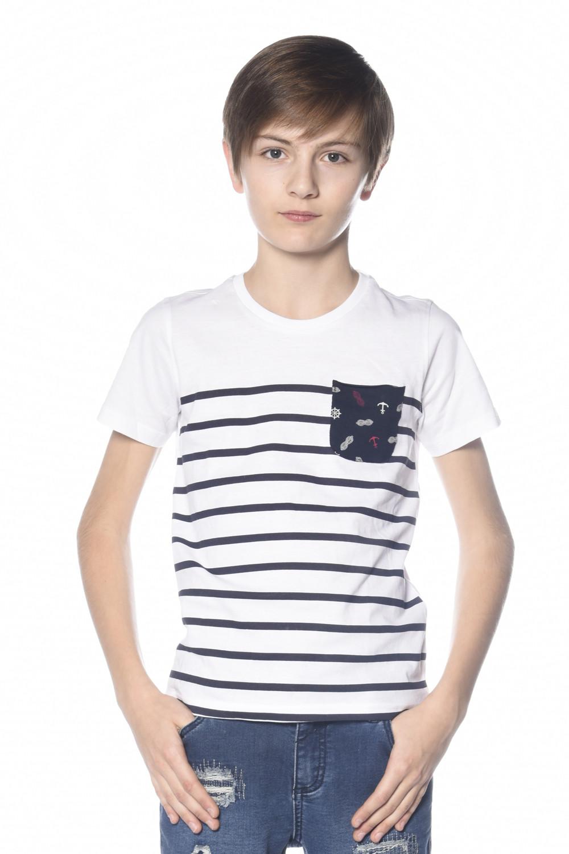 T-Shirt MARIN Garçon S18173B (33588) - DEELUXE