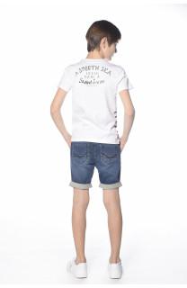 T-Shirt MARIN Garçon S18173B (33589) - DEELUXE