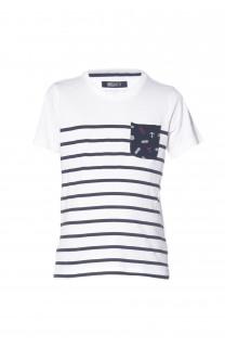 T-Shirt MARIN Garçon S18173B (33590) - DEELUXE