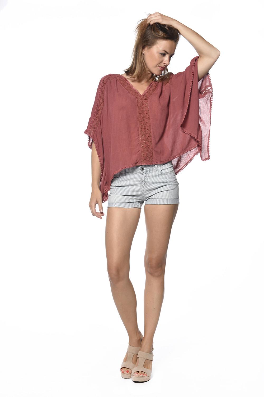 Short Juni Woman S18712W (34080) - DEELUXE-SHOP