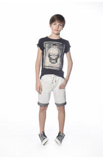 T-Shirt CRYSTAL Garçon S18184B (34152) - DEELUXE