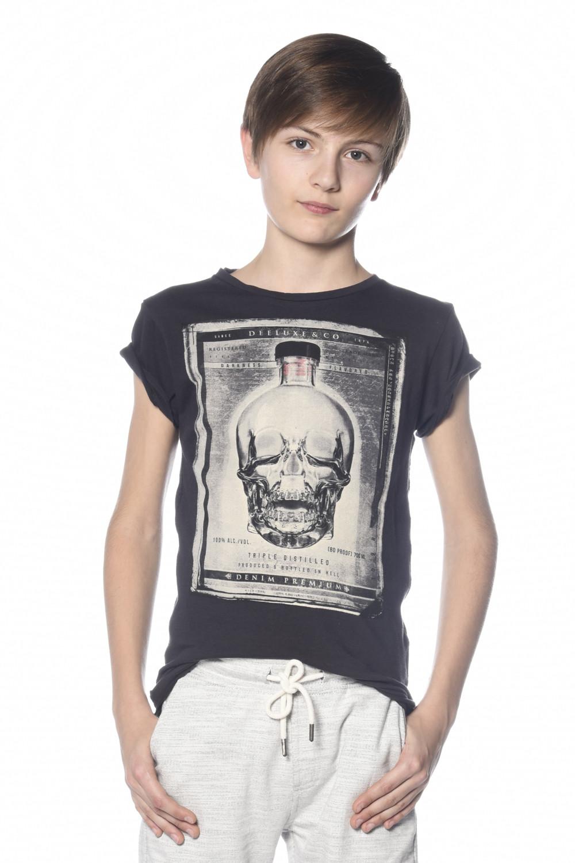 T-Shirt CRYSTAL Garçon S18184B (34153) - DEELUXE
