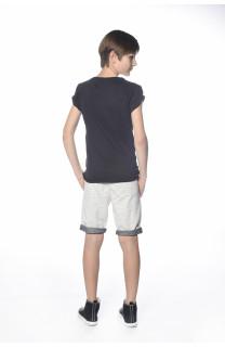 T-Shirt CRYSTAL Garçon S18184B (34154) - DEELUXE
