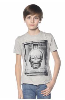 T-Shirt CRYSTAL Garçon S18184B (34158) - DEELUXE