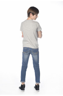 T-Shirt CRYSTAL Garçon S18184B (34159) - DEELUXE