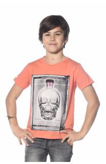 T-Shirt CRYSTAL Garçon S18184B (34163) - DEELUXE