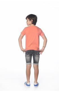 T-Shirt CRYSTAL Garçon S18184B (34164) - DEELUXE