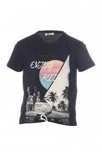 T-Shirt T-shirt Enjoy Boy S18186B (34184) - DEELUXE-SHOP