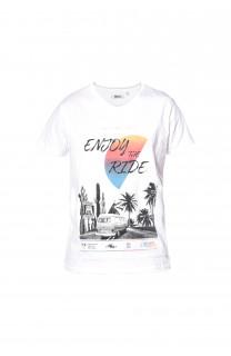 T-Shirt T-shirt Enjoy Boy S18186B (34186) - DEELUXE-SHOP