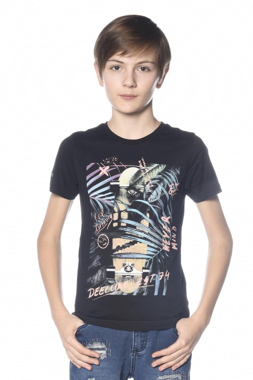 T-Shirt MIND Garçon S18192B (34189) - DEELUXE