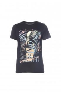 T-Shirt MIND Garçon S18192B (34191) - DEELUXE