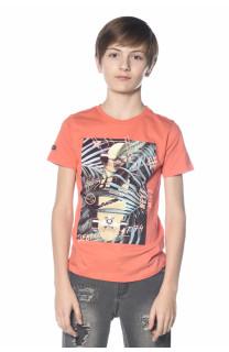 T-Shirt MIND Garçon S18192B (34194) - DEELUXE