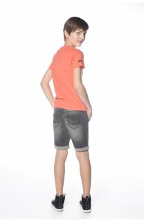 T-Shirt MIND Garçon S18192B (34195) - DEELUXE