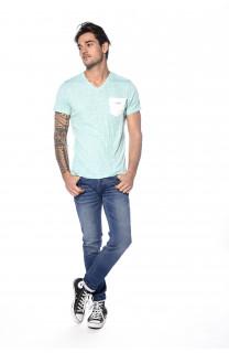 T-shirt T-shirt Fox Man S18106 (34222) - DEELUXE-SHOP