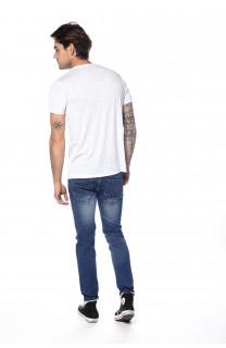 T-shirt T-shirt Fox Man S18106 (34234) - DEELUXE-SHOP