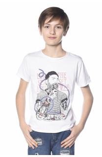 T-shirt Popeye Boy S18123B (34324) - DEELUXE-SHOP