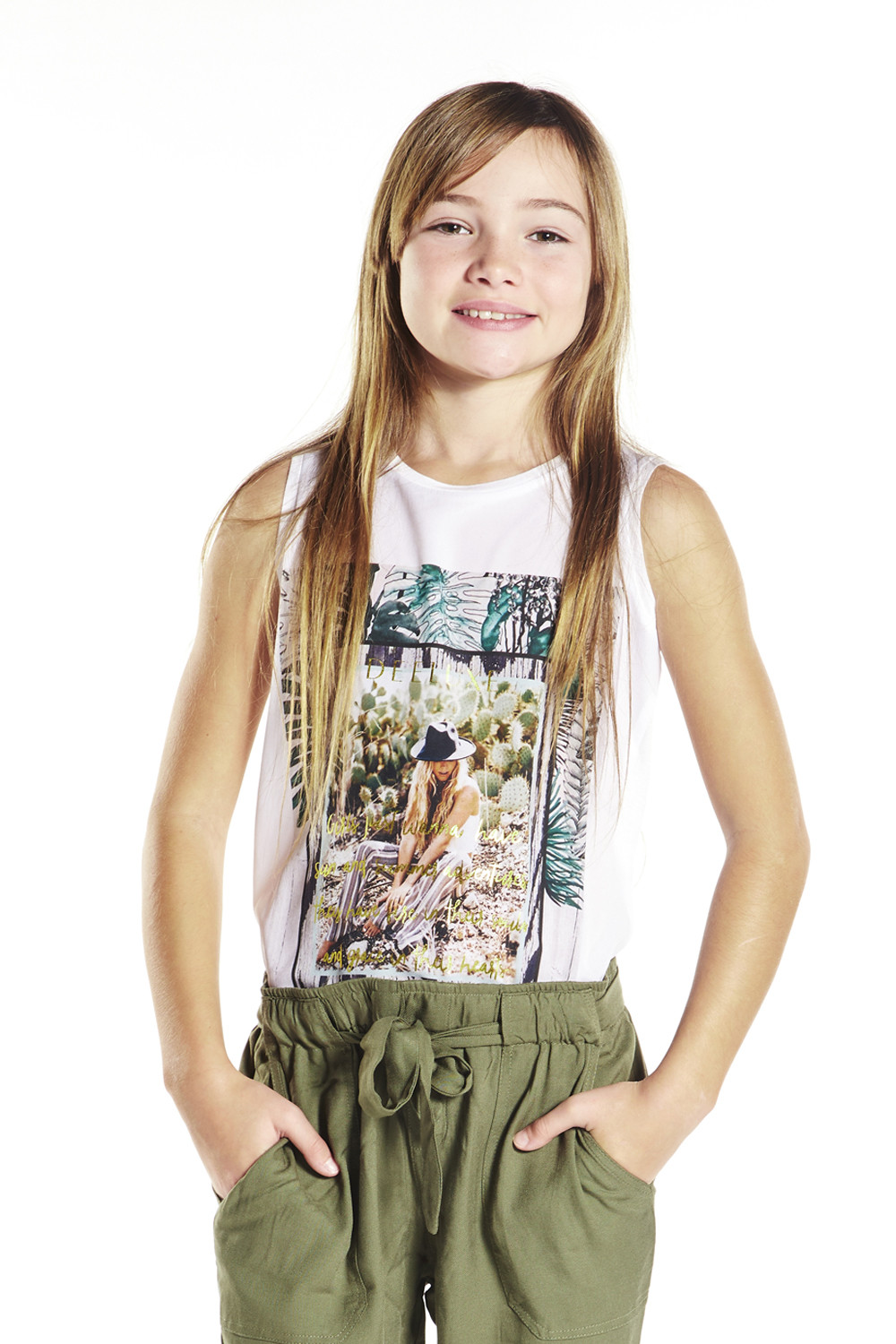 Tank Top Smooth Girl S18160G (34504) - DEELUXE-SHOP