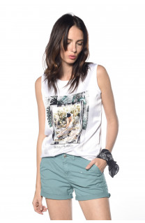 Tank Top Smooth Woman S18160W (34514) - DEELUXE-SHOP