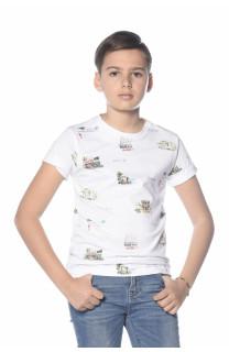 T-Shirt VAN Garçon S18163B (34529) - DEELUXE