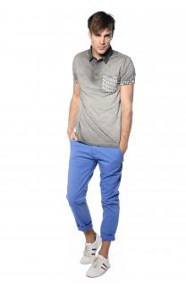 Polo shirt Adamson Man S18226 (34819) - DEELUXE-SHOP