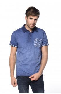 Polo shirt Adamson Man S18226 (34824) - DEELUXE-SHOP