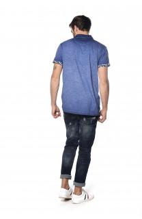 Polo shirt Adamson Man S18226 (34826) - DEELUXE-SHOP