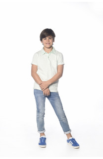 Polo shirt Adamson Boy S18226B (34831) - DEELUXE-SHOP