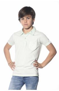 Polo shirt Adamson Boy S18226B (34832) - DEELUXE-SHOP