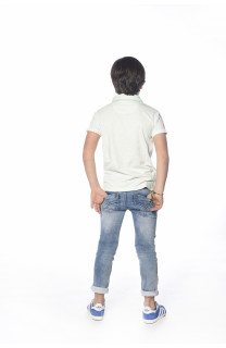 Polo shirt Adamson Boy S18226B (34833) - DEELUXE-SHOP