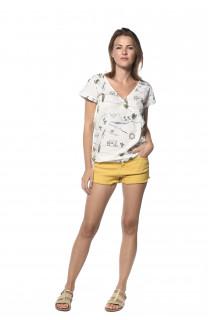 Blouse Sunlight Woman S18404W (34850) - DEELUXE-SHOP