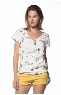 Blouse Sunlight Woman S18404W (34851) - DEELUXE-SHOP