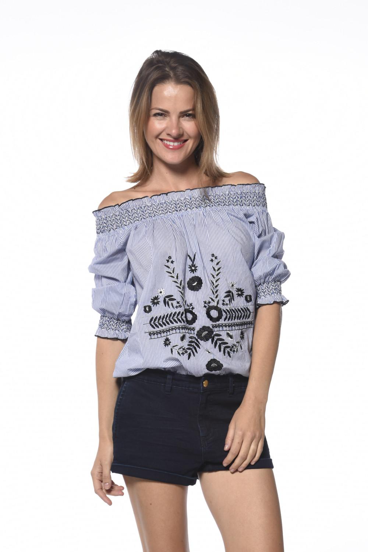 Blouse Zoe Woman S18412W (34881) - DEELUXE-SHOP