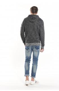 Sweatshirt Sweatshirt Newstep Man S18549 (35007) - DEELUXE-SHOP