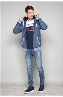 Sweatshirt Sweatshirt Newstep Man S18549 (35015) - DEELUXE-SHOP